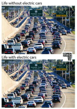 Auta elektrycznie nie zmniejszą korków, ale mimo to ustawodawca chce promować dojazd nimi do ścisłych centrów miast.