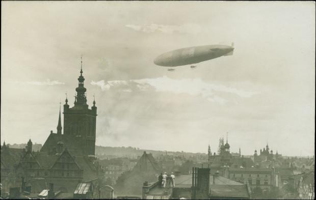 Po trójmiejskim niebie nie tylko latał Graf Zeppelin.