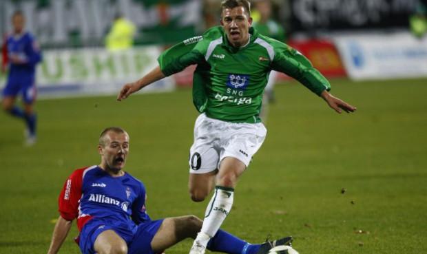 Paweł Buzała grał w Lechii 4,5 roku. W piątek napastnik pożegnał się z gdańską drużyną.