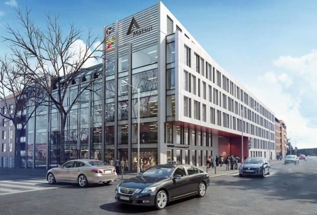 U zbiegu ulic Szymanowskiego i Chrzanowskiego trwa budowa biurowca Hiro. Hossa zapowiada, że biurowców na terenie Garnizonu będzie więcej