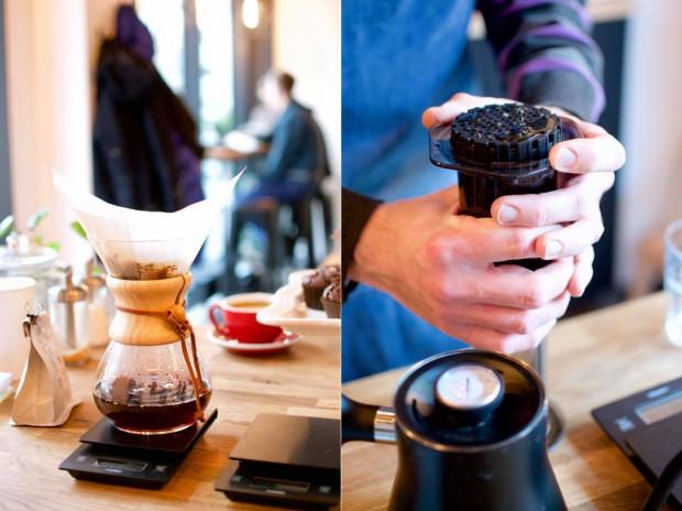 Szczególnie cenione przez smakoszy kawowych ziaren są alternatywne metody parzenia ręcznego, m.in. drip czy aeropress.