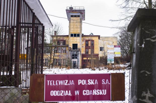 Była siedziba gdańskiego oddziału TVP. Widok z ul. Akacjowej.