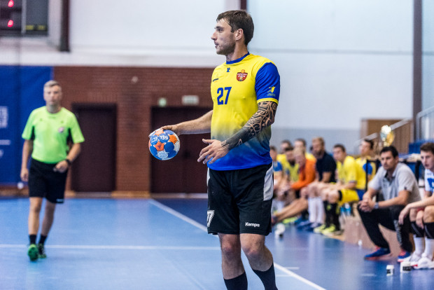 Wiele wskazuje na to, że Jewgen Krawczenko (na zdjęciu) pożegna się ze Spójnią. Klub już rozstał się z jego rodakiem Oleksandrem Kirilenko.