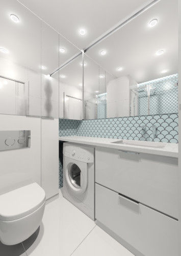 W małej łazience ważną rolę odgrywają kompaktowe rozwiązania. Zestawy podtynkowe oraz skrócona misa WC to jedne z przykładów tego typu rozwiązań.