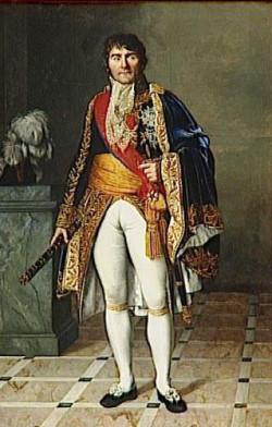 Marszałek Francois Joseph Lefebvre, dowódca armii, która w 1807 roku oblegała Gdańsk. Za zdobycie miasta otrzymał od Napoleona tytuł Księcia Gdańska.