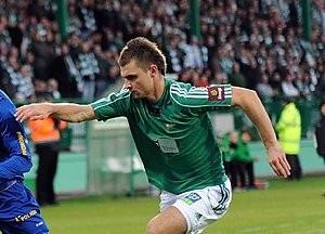 Hubert Wołąkiewicz spędził w Lechii 3,5 sezonu.