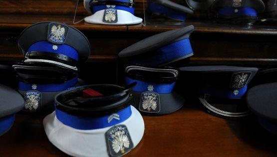 """Niektórym policjantom podczas imprezy """"zagrzały się głowy"""", dlatego do dziś są obiektem drwin."""