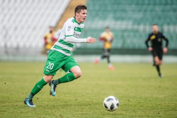 Adam Chrzanowski stracił jesień z powodów zdrowotnych. Teraz 18-letni obrońca zamierza rozpocząć wiosnę w pierwszym składzie Lechii Gdańsk.