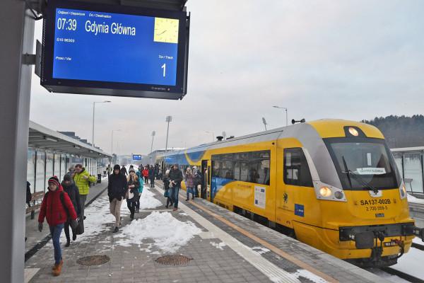 Przystanek Gdynia Stadion.