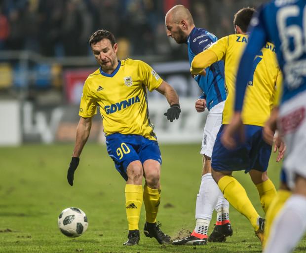 Andrij Bogdanow (nr 90) grę w Arce Gdynia traktuje jako szansę wypromowania się w Europie siebie i drużyny.