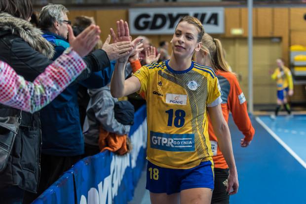 Aleksandra Zych nim na dobre pożegna się z Gdyni i przeniesie do francuskiego Metz, zamierza z GTPR wygrać jak najwięcej meczów.