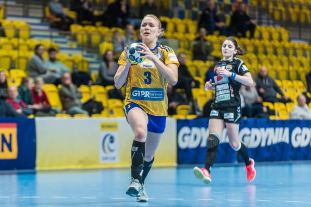 Katarzyna Janiszewska świetnie wykorzystywała kontrataki w meczu z KPR.