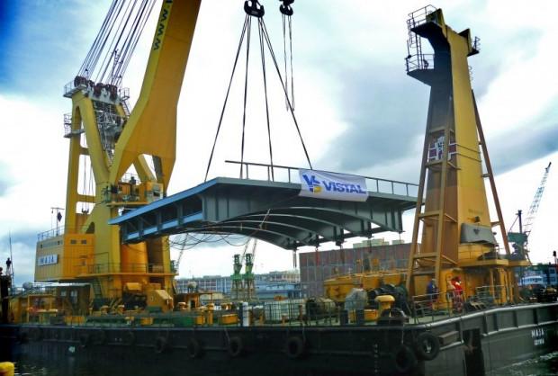 W ramach planu restrukturyzacyjnego Vistal skupi się na konstrukcjach mostów kolejowych w Polsce i Skandynawii.