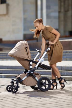 Wiele mam przywiązuje wagę do wyglądu wózka.