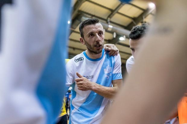 Wojciech Pawicki, grający trener AZS UG, przekonuje, że jego zespół w niedzielę zagra bez presji.