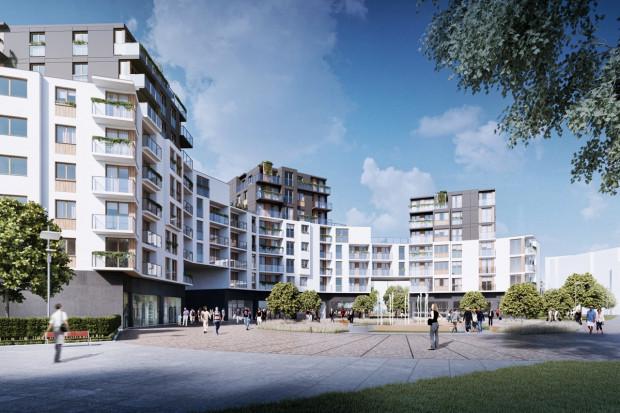Koncepcja architektoniczna nowej zabudowy na Zaspie, na podstawie której powstaje plan zagospodarowania przestrzennego.