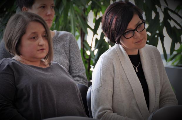 W konferencji prasowej podsumowującej rok 2017 w gdańskiej transplantologii wzięły udział również dwie pacjentki UCK, które mają za sobą przeszczep nerki - Joanna Romanek i Anna Czerwińska.