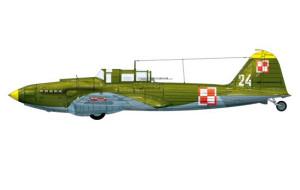 Ił-2m3 - takim samolotem doleciał do Gotlandii ppor. mar. Arkadiusz Korobczyński.