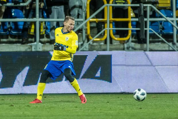 Krzysztof Janus liczył na miejsce w podstawowym składzie Zagłębia Lubin na mecz z Arką, gdy dowiedział się, że jest zgoda na odejście do Gdyni.