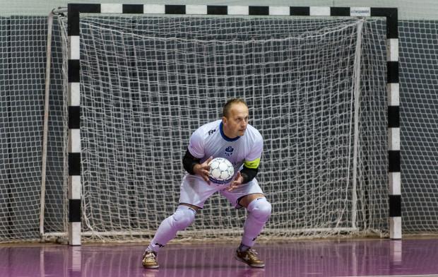Jacek Burglin po czterech miesiącach wrócił do bramki AZS UG