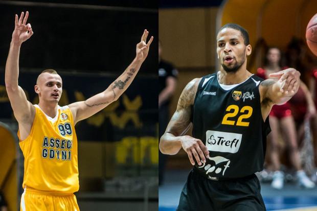 Asseco Gdynia i Trefl Sopot mogą być zadowolone z transferów m.in. Dariusza Wyki (nr 99) oraz Jernaine Love'a (nr 22).