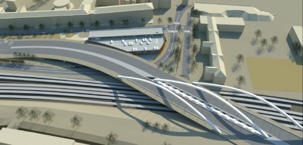 Planowany wiadukt Biskupia Górka - budowa ma się zakończyć latem 2019 r.