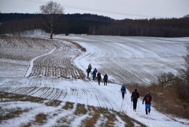3-dniowa, zimowa wędrówka Szlakiem Skarszewskim