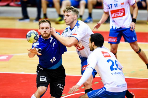 Łukasz Rogulski był najskuteczniejszym zawodnikiem meczu Orlen Wisła Płock - Wybrzeże Gdańsk. Obrotowy zdobył aż 10 bramek.