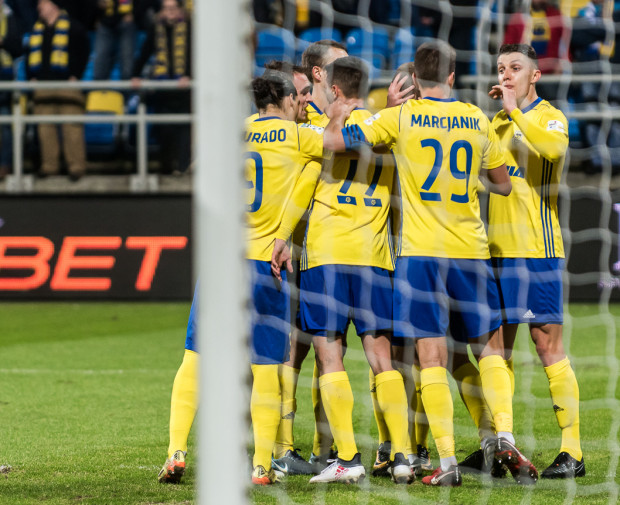 Kiedy Arka Gdynia będzie mogła cieszyć się z awansu do grupy mistrzowskiej? Analiza możliwych wariantów na dwie ostatnie kolejki sezonu zasadniczego w ekstraklasie.