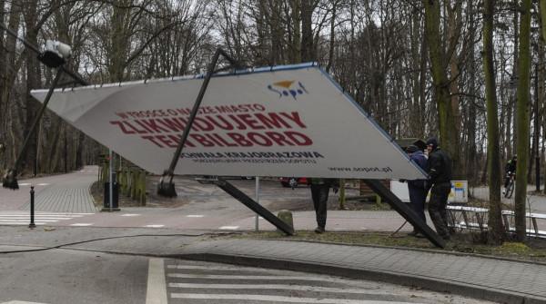 Dotychczas Sopot pozbył się własnych reklam, niezgodnych z projektem uchwały. Teraz pora na właścicieli prywatnych nieruchomości.