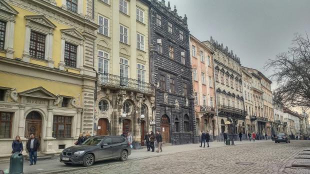 Gdańskie biuro informacyjne znajduje się kilkanaście minut piechotą od ścisłego centrum Lwowa.