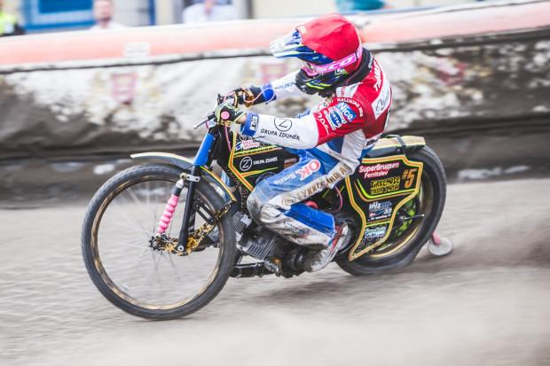Anders Thomsen pokazał w Częstochowie, że już podczas pierwszego sparingu jest w stanie skutecznie mijać rywali na dystansie.