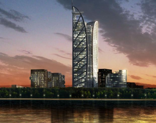 Taki projekt budynku Big Boy prezentowano w 2011 roku, gdy miał on liczyć ok. 170 metrów do dachu. Obecnie obniżono go już po raz trzeci, tym razem do 99 metrów.