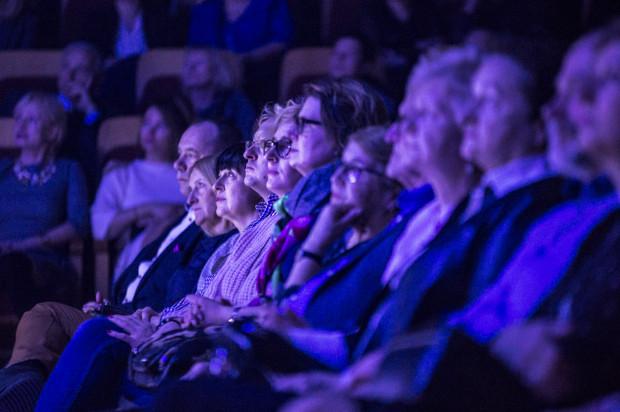 Publiczność wypełniła salę koncertową Filharmonii Bałtyckiej niemal do ostatniego miejsca i bawiła się znakomicie.