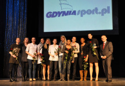 Koszykarki Lotosu zdobyły tytuł żeńskiej drużyny roku w Gdyni.