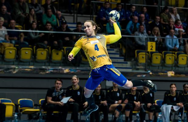 Najwięcej bramek dla GTPR zdobyła Aneta Łabuda.