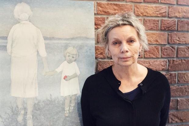 """""""Niedopowiedzenia"""" wystawa prac Iwony Chmielewskiej w Sztuce Wyboru."""
