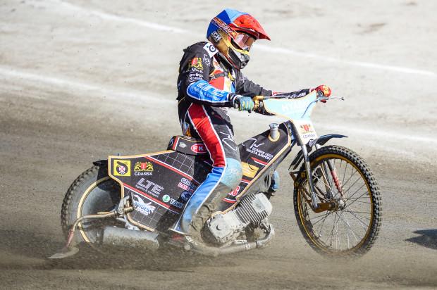 Mikkel Bech zdobył najwięcej punktów dla Wybrzeża w Pile. Duńczyk rozkręcił się jednak zbyt późno, aby uratować choćby punkt.