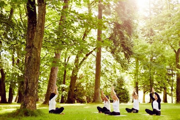 Pałac Ciekocinko proponuje atrakcje na łonie natury zarówno dla osób chcących spędzić czas aktywnie, jak i dla tych, które wolą poleżeć na trawie.