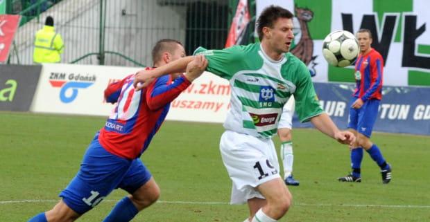 Pater Ćvirik był już piłkarzem Lechii przez 1,5 sezonu (2009-10).