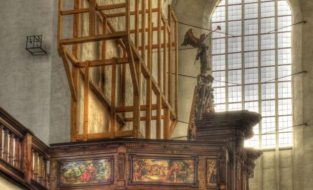 Odbudowa zabytkowych organów znalezionych na terenie kościoła św. Trójcy w Gdańsku