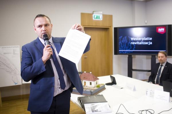Dyrektor Nawrocki zapewnił, że jego wizja muzeum plenerowego na Westerplatte otrzymało od ministerstwa promesę sfinansowania inwestycji.