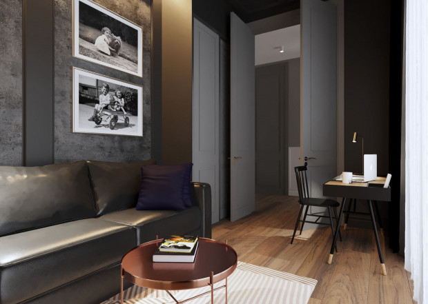 Przestrzeń do pracy powinna nawiązywać do stylistyki całego domu.