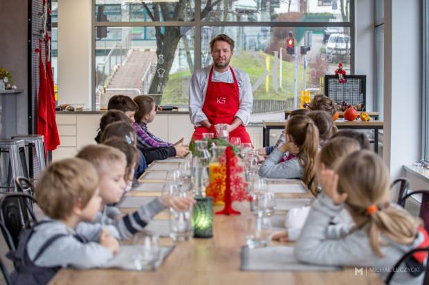 Warsztaty kulinarne dla dzieci w Akademii Kulinarnej K5.