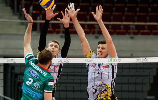 Zatrzymanie Jana Hadravy będzie jednym z najważniejszych zadań dla Wojciecha Grzyba (z prawej) i jego kolegów z Trefla.