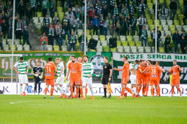 Po piątkowym meczu piłkarze Lechii Gdańsk mogli jedynie spuścić głowy.