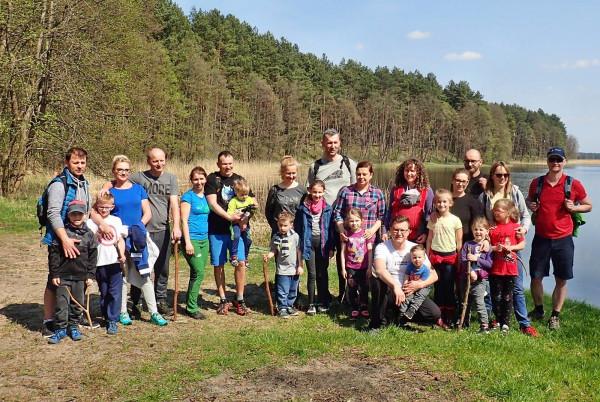 Rodzinna wędrówka zorganizowana przez GR3miasto
