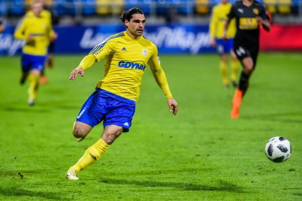 Ruben Jurado zapamięta mecz w Szczecinie z trzech powodów: Arka dowiedziała się, że zostaje w ekstraklasie, w długiej przerwie wreszcie zdobył gola sprzed pola karnego, dostał pierwszą czerwoną kartkę w karierze