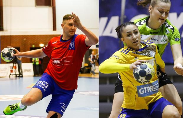 Wybrzeże w środę może zakończyć sezon, zaś GTPR ma do rozegrania jeszcze dwa spotkania. Z lewej Paweł Salacz, z prawej Patricia Machado-Matieli.