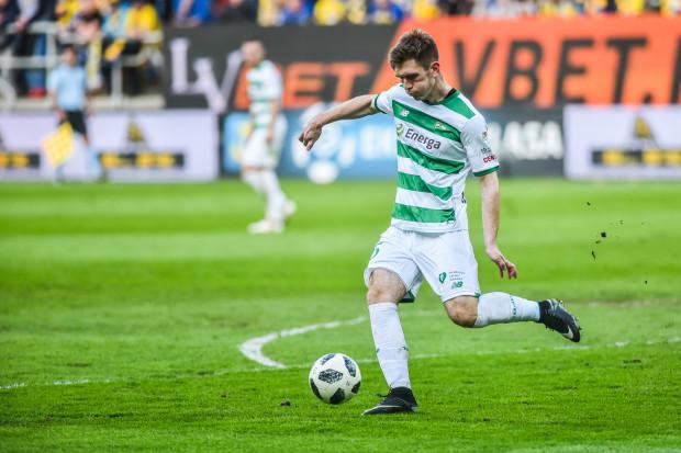 Michał Nalepa w Gliwicach zdobył swojego pierwszego gola w historii występów w ekstraklasie. Bramka środkowego obrońcy może okazać się bardzo ważna w kontekście utrzymania Lechii w krajowej elicie.
